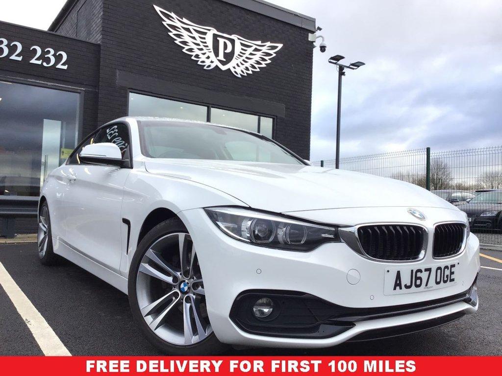 USED 2017 67 BMW 4 SERIES 2.0 420D SPORT 2d 188 BHP