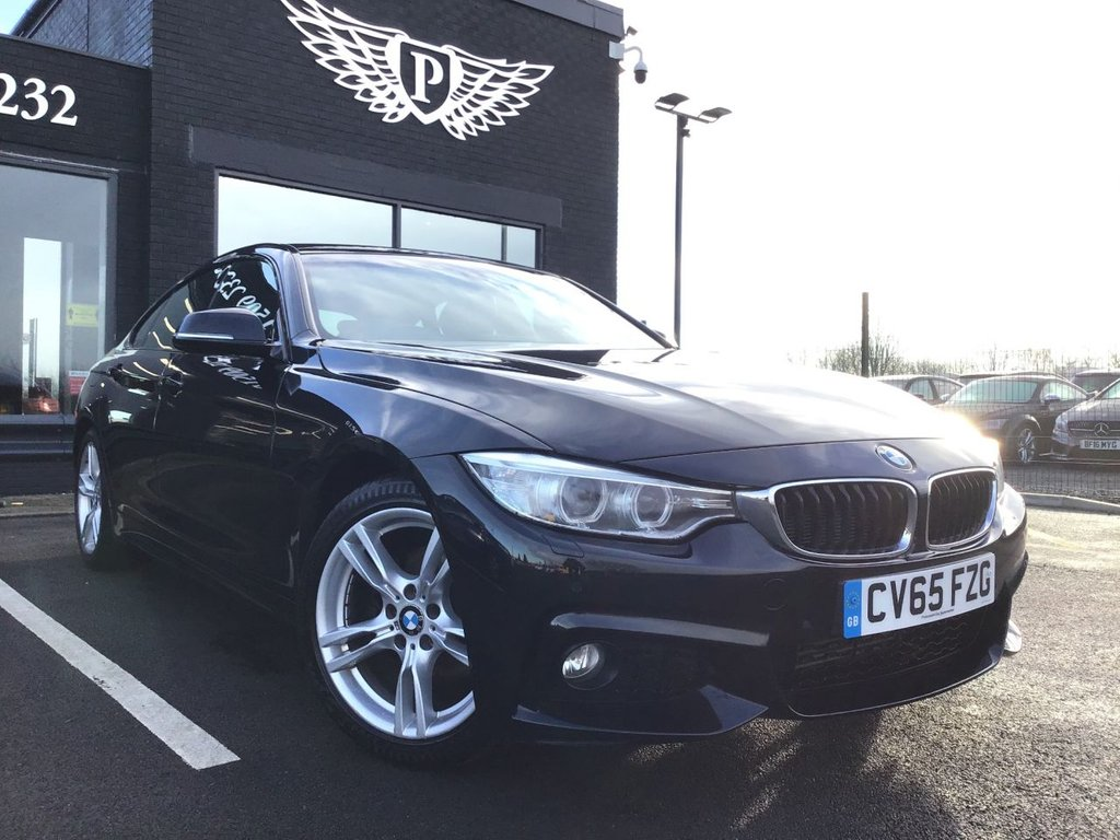 USED 2015 65 BMW 4 SERIES 2.0 420D M SPORT GRAN COUPE 4d 188 BHP FINANCE RATES FROM 5.9% APR*