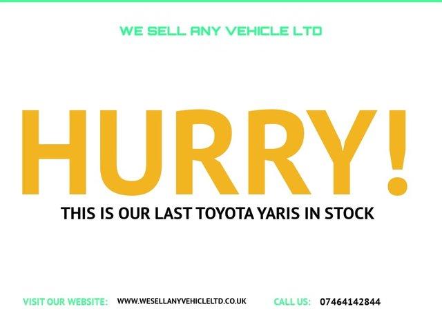 USED 2007 57 TOYOTA YARIS 1.3 TR VVTI 5d 86 BHP LOW MILES GOOD SPEC