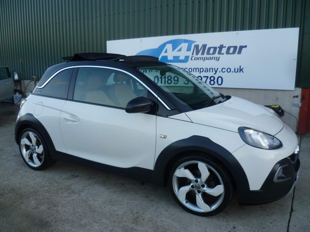USED 2015 15 VAUXHALL ADAM 1.4 16v ROCKS AIR 3dr WE ARE OPEN BY APPOINTMENT