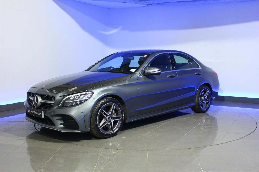 USED 2019 69 MERCEDES-BENZ C-CLASS 2.0 C220d AMG Line G-Tronic+ (s/s) 4dr HEATED SEATS - NAVIGATION