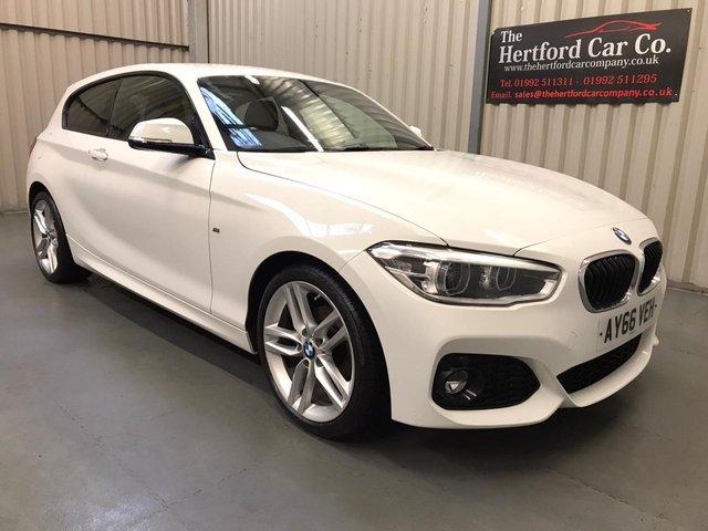 2016 66 BMW 1 SERIES 1.5 118I M SPORT 3d 134 BHP