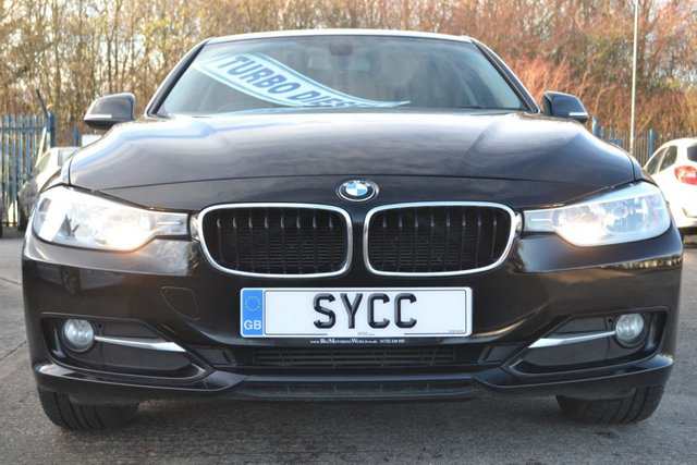 USED 2014 63 BMW 3 SERIES 2.0 318D SPORT 4d 141 BHP £30 ROAD TAX ~ SAT NAV ~ FRONT AND REAR PARK SENSORS ~ BMW SERVICE HISTORY ~ 6 MONTHS WARRANTY