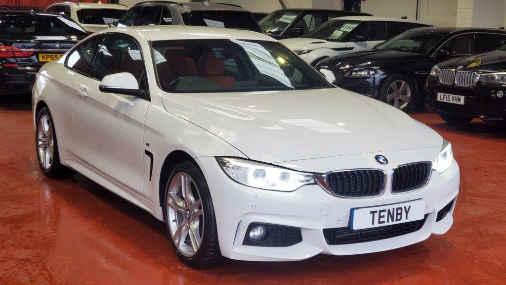 USED 2014 64 BMW 4 SERIES 2.0 420D XDRIVE M SPORT 2d AUTO 181 BHP