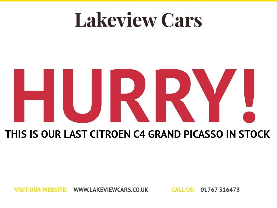USED 2017 17 CITROEN C4 GRAND PICASSO 1.6 BLUEHDI TOUCH EDITION S/S 5d 118 BHP