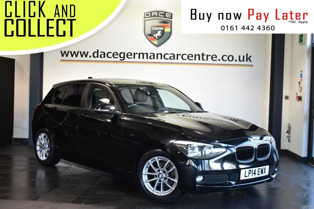 USED 2014 14 BMW 1 SERIES 1.6 116D EFFICIENTDYNAMICS BUSINESS 5DR 114 BHP