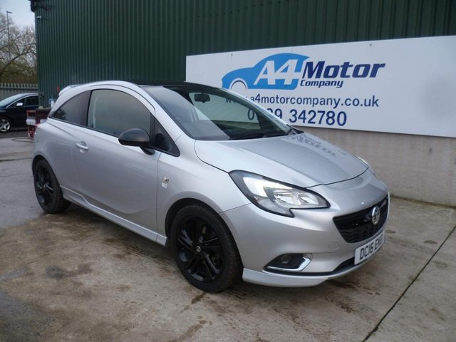 2016 16 VAUXHALL CORSA 1.0i Turbo ecoFLEX Limited Edition (s/s) 3dr