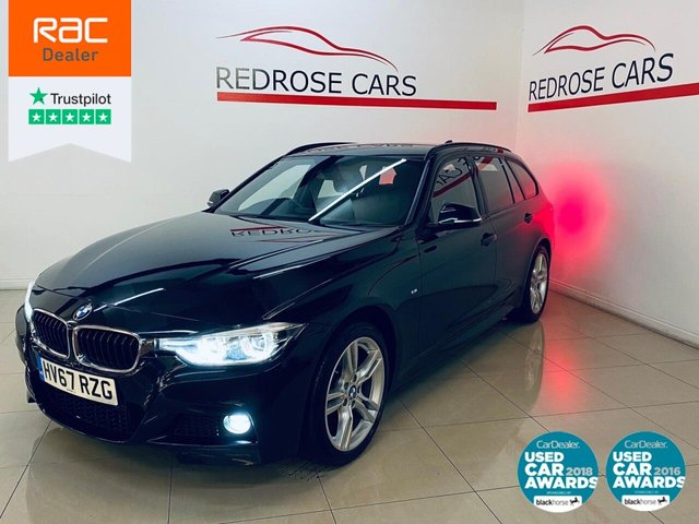 USED 2017 67 BMW 3 SERIES 3.0 330D XDRIVE M SPORT TOURING 5d 255 BHP FULL SRVC, 1 OWNER, 2 KEYS