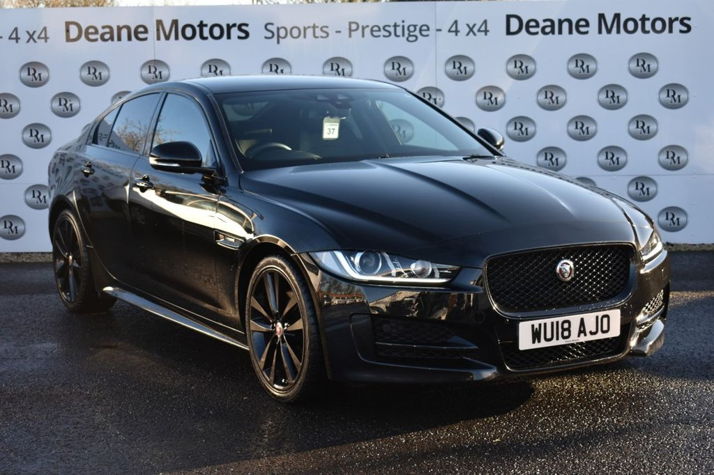 USED 2018 18 JAGUAR XE 2.0 D R-SPORT 4d 178 BHP GREAT SPECIFICATION