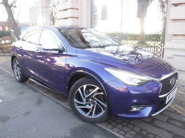USED 2017 17 INFINITI Q30 2.1 PREMIUM INTOUCH 5d 168 BHP *** FINANCE & PART EXCHANGE WELCOME *** DIESEL AUTOMATIC SAT/NAV BLUETOOTH PHONE  360 VIEW CAMERAS PARKING SENSORS HEATED SEATS