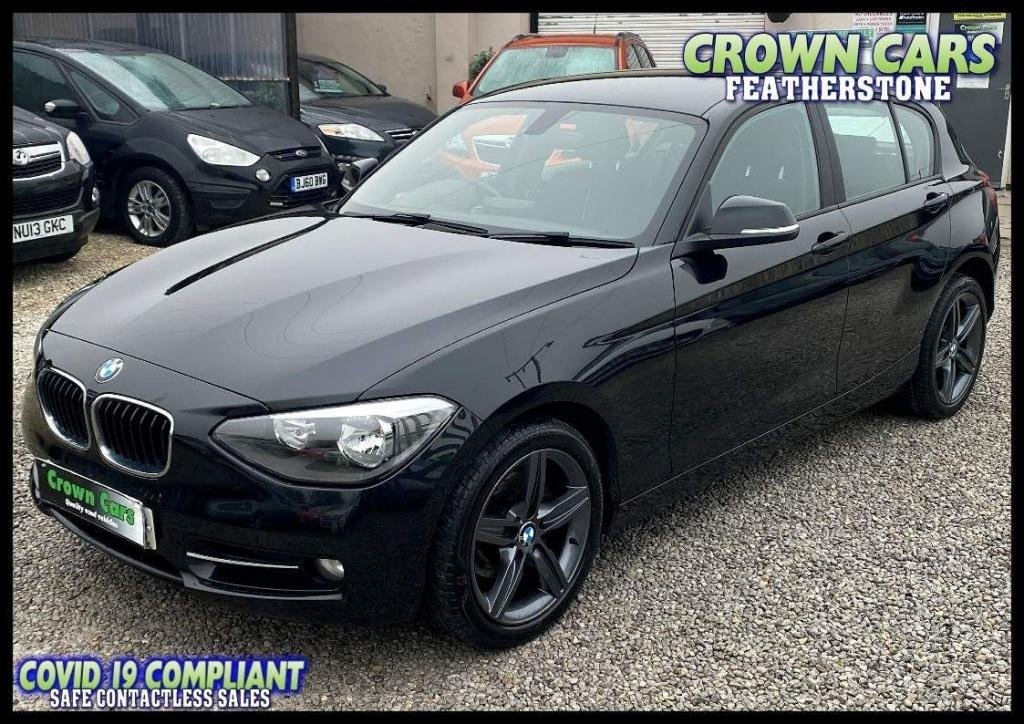 USED 2013 13 BMW 1 SERIES 2.0 120d Sport Sports Hatch xDrive 5dr BEST SPECIFICATION ONE SERIES