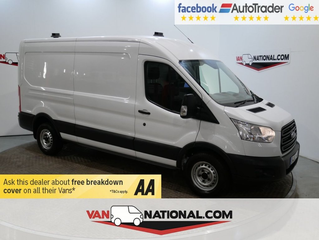 USED 2016 66 FORD TRANSIT 2.2 350 SHR P/V 125 BHP L3 H2 *AIR CON* LWB M/R * ONE OWNER * LWB * AIR CON * ZERO DEPOSIT FINANCE AVAILABLE *