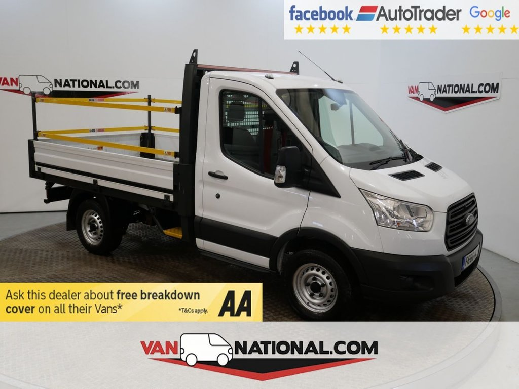 USED 2016 66 FORD TRANSIT 2.2 310 SRW 100 BHP DROPSIDE 2.2 TDCI SWB ONE STOP ALLOY BODY * ONE OWNER * SWB DROPSIDE * ZERO DEPOSIT FINANCE AVAILABLE *