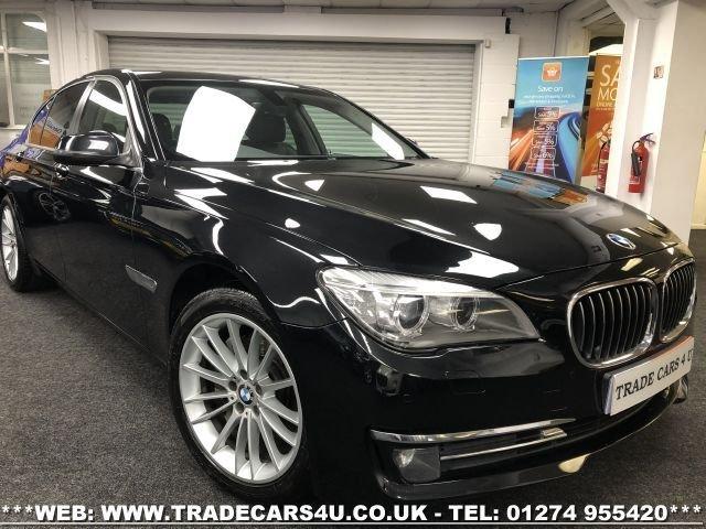 2013 13 BMW 7 SERIES 3.0 730D SE 4d 255 BHP
