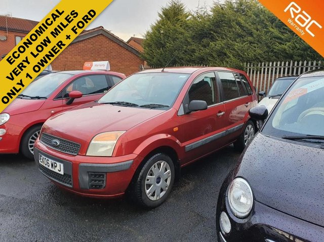 2006 06 FORD FUSION 1.4 STYLE CLIMATE 5d 68 BHP