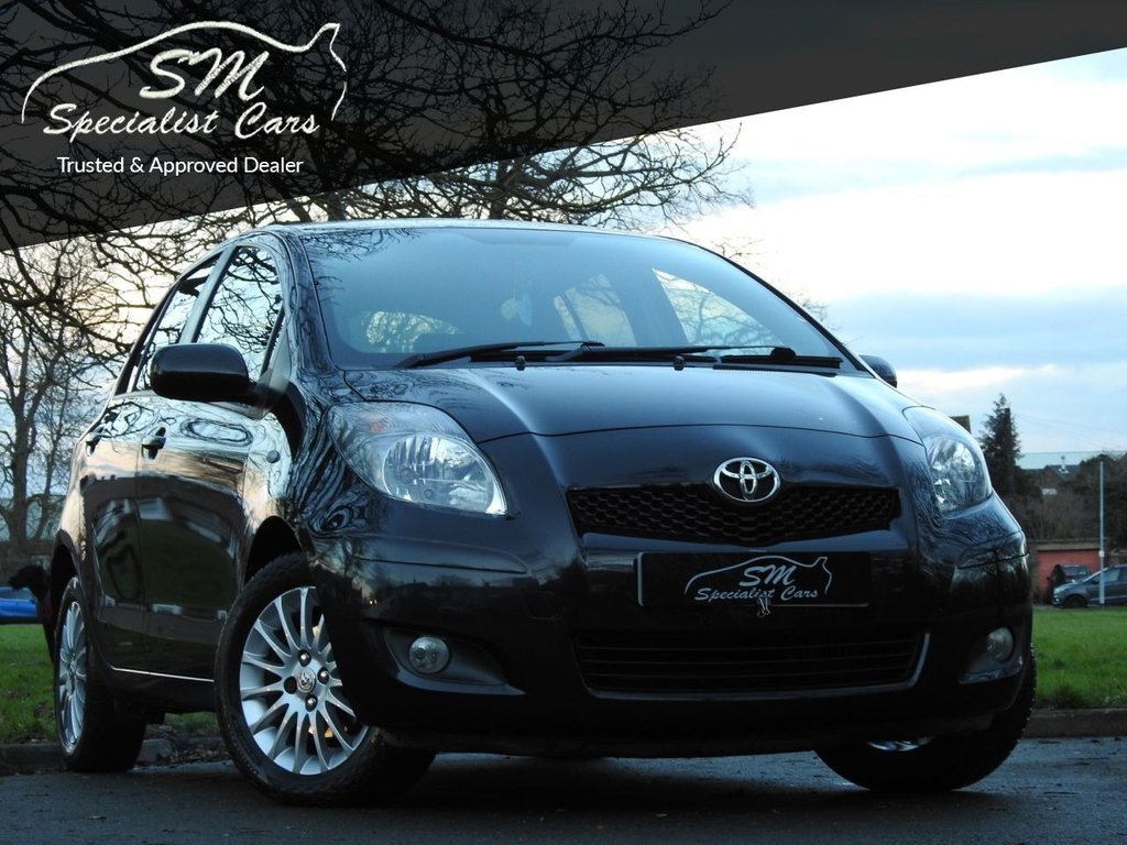 USED 2009 09 TOYOTA YARIS 1.4 SR D-4D 5d 89 BHP ONLY 84K OVER 50 MPG VGC