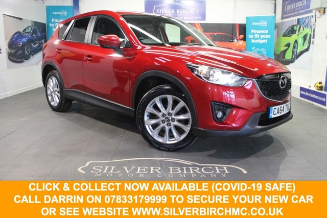 USED 2015 64 MAZDA CX-5 2.0 SPORT NAV 5d 163 BHP Low Deposit Finance Available