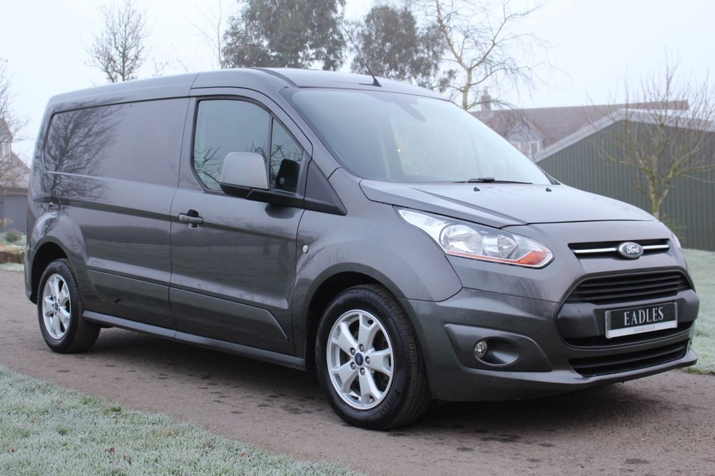 USED 2015 15 FORD TRANSIT CONNECT 1.6 240 LIMITED P/V 114 BHP NO VAT - LIMITED - DARK GREY -