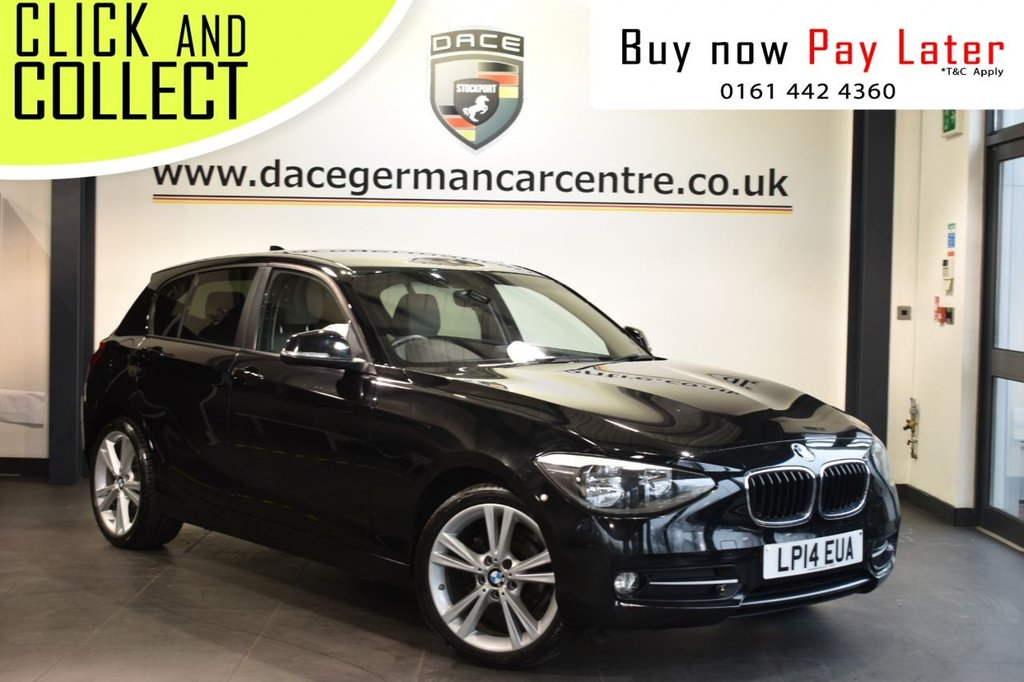 USED 2014 14 BMW 1 SERIES 1.6 116I SPORT 5DR AUTO 135 BHP