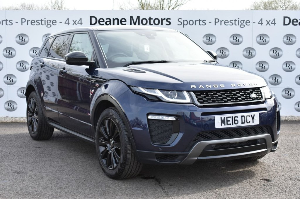 USED 2016 16 LAND ROVER RANGE ROVER EVOQUE 2.0 TD4 HSE DYNAMIC 5d 177 BHP PANROOF