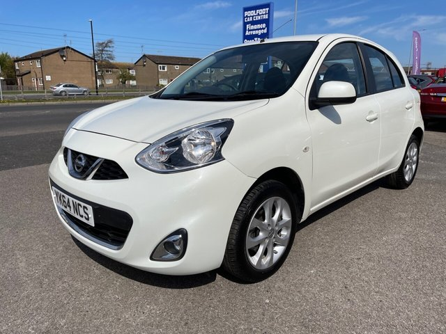 USED 2014 64 NISSAN MICRA 1.2 ACENTA 5d 79 BHP *** FINANCE & PART EXCHANGE WELCOME *** 36000 MILES AUTOMATIC SAT/NAV BLUETOOTH PHONE PARKING SENSORS CRUISE CONTROL AUX & USB SOCKETS