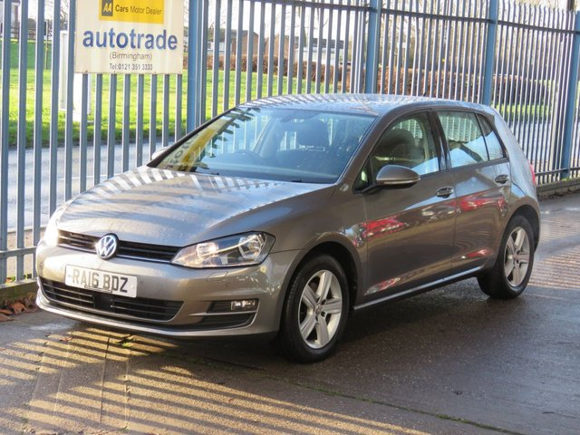 USED 2016 16 VOLKSWAGEN GOLF 1.4 MATCH EDITION TSI BMT 5dr 124 Sat nav Heated seats Bluetooth & audio DAB Cruise Alloys Finance arranged Part exchange available Open 7 days ULEX Compliant