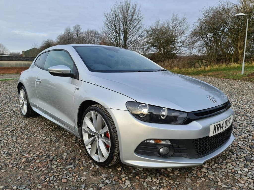 USED 2014 14 VOLKSWAGEN SCIROCCO 2.0 R LINE TDI DSG 2d 175 BHP Free Next Day Nationwide Delivery
