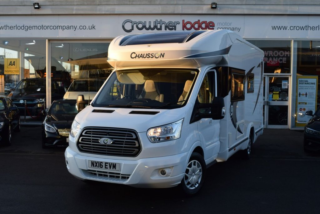 USED 2016 16 CHAUSSON CHAUSSON 2.2 FLASH 610 FINANCE AVAILABLE UP TO TEN YEARS - SERVICE HISTORY