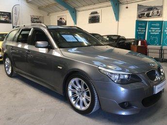 2009 BMW 5 SERIES 3.0 530D M SPORT TOURING 5d 232 BHP