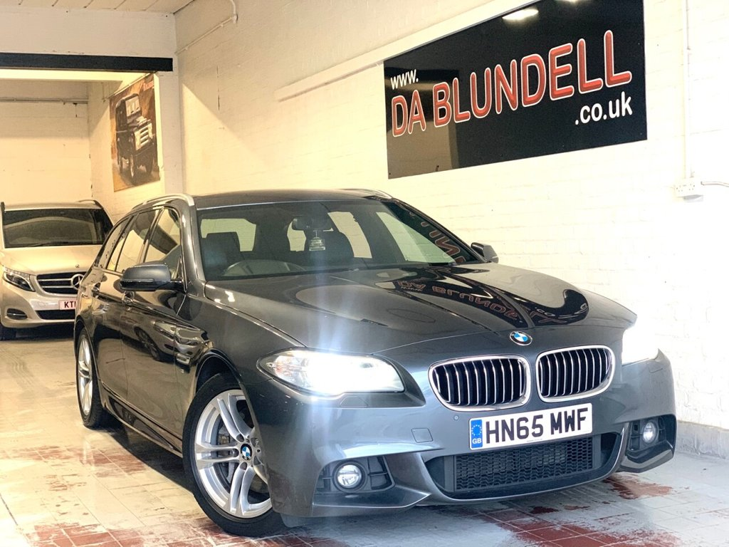 USED 2016 65 BMW 5 SERIES 2.0 525D M SPORT TOURING 5d 215 BHP HEAD UP DISLPLAY+NAPPA LEATHER