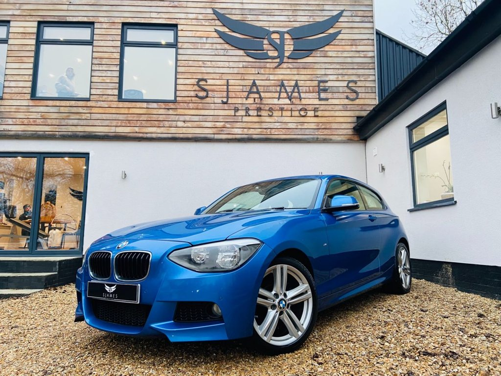 USED 2014 12 BMW 1 SERIES 2.0 120D M SPORT 3d 181 BHP