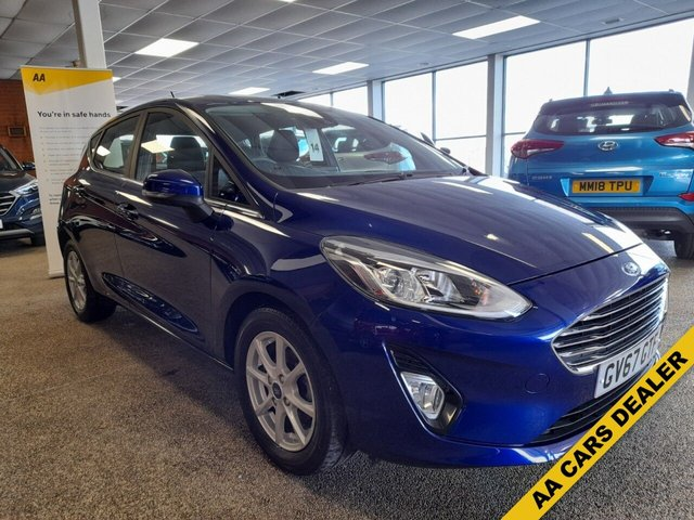 USED 2017 67 FORD FIESTA 1.0 ZETEC AUTOMATIC 5d 99 BHP