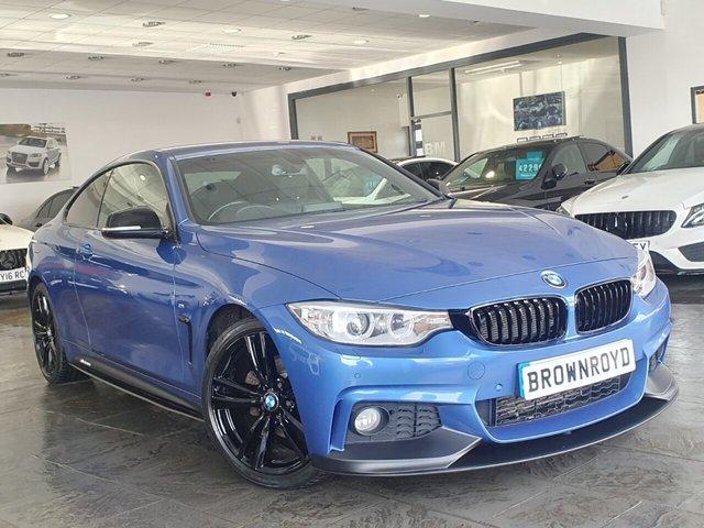 USED 2016 16 BMW 4 SERIES 2.0 420D XDRIVE M SPORT 2d 188 BHP BM PERFORMANCE STYLING+6.9%APR