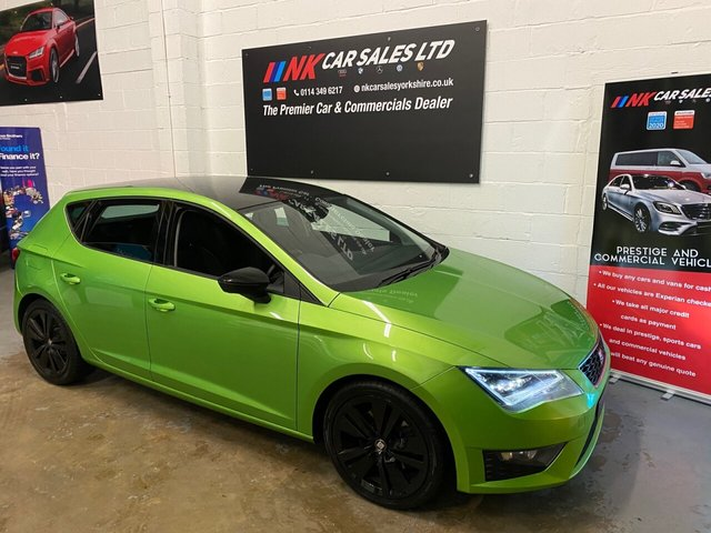 USED 2016 66 SEAT LEON 2.0 TDI FR TECHNOLOGY 5d 184 BHP JUST HAD NEW CLUTCH AND FLYWHEEL FITTED BY US