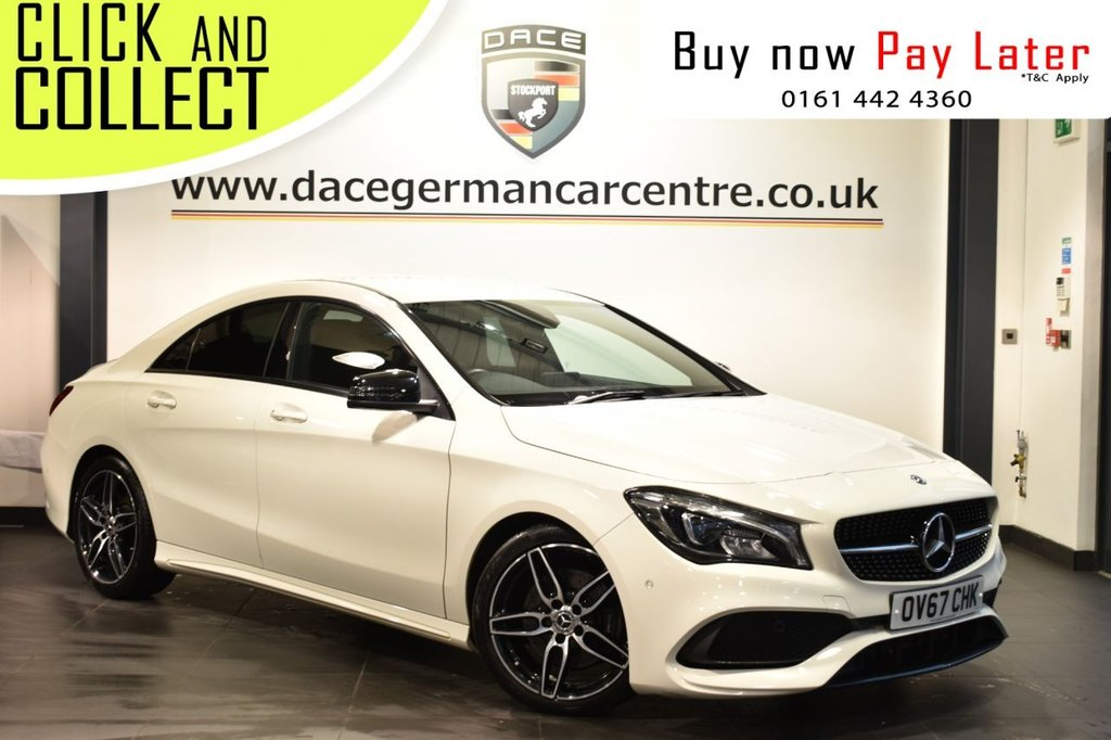 USED 2017 67 MERCEDES-BENZ CLA 2.1 CLA 220 D AMG LINE 4DR AUTO 174 BHP