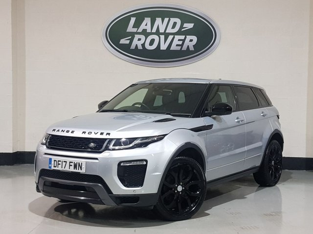 """USED 2017 17 LAND ROVER RANGE ROVER EVOQUE 2.0 TD4 HSE DYNAMIC 5d 177 BHP 1 Owner/Heated Leather/Sat-Nav/20""""Alloys/Meridian Sound"""