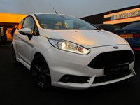 USED 2015 65 FORD FIESTA 1.6 ST-3 3d 180 BHP SAT/NAV, H/LEATHER, 5 SERVICES
