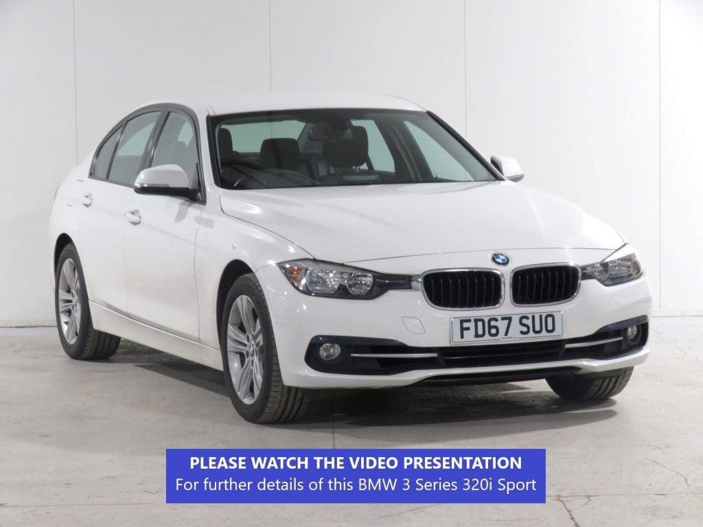 USED 2017 67 BMW 3 SERIES 2.0 320i Sport (s/s) 4dr BUSINESS MEDIA*PARKING SENSORS