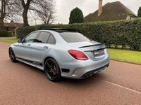 USED 2017 17 MERCEDES-BENZ C-CLASS 2.1 C250d AMG Line (Premium Plus) G-Tronic+ (s/s) 4dr PANROOF+NIGHT PACK+BODY KIT+FH