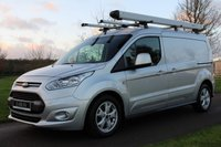 USED 2017 66 FORD TRANSIT CONNECT 1.5 240 LIMITED P/V 118 BHP NO VAT LONG WHEEL BASE LIMITED REVERSE CAM PLUS SAT NAV WARRANTY INCLUDED