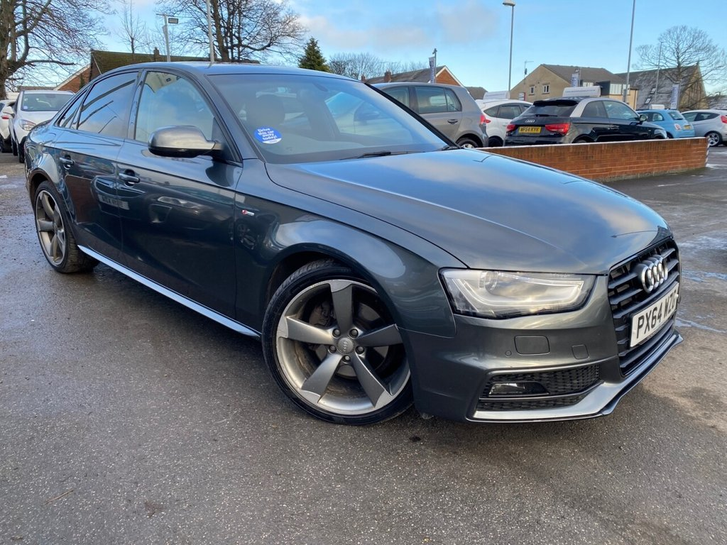 USED 2014 64 AUDI A4 2.0 TDI BLACK EDITION 4d 174 BHP