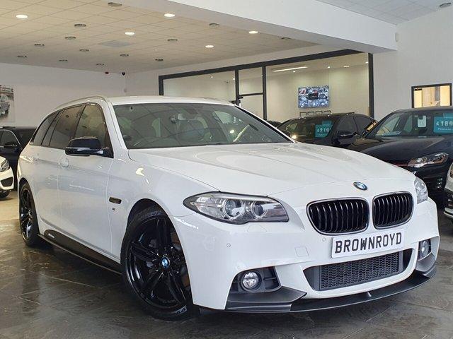 USED 2017 17 BMW 5 SERIES 2.0 520D M SPORT TOURING 5d 188 BHP BM PERFORMANCE STYLING+6.9%APR