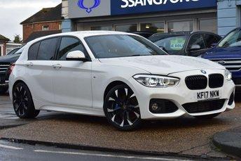 2017 BMW 1 SERIES 2.0 118D M SPORT SHADOW EDITION 5d 147 BHP £16999.00