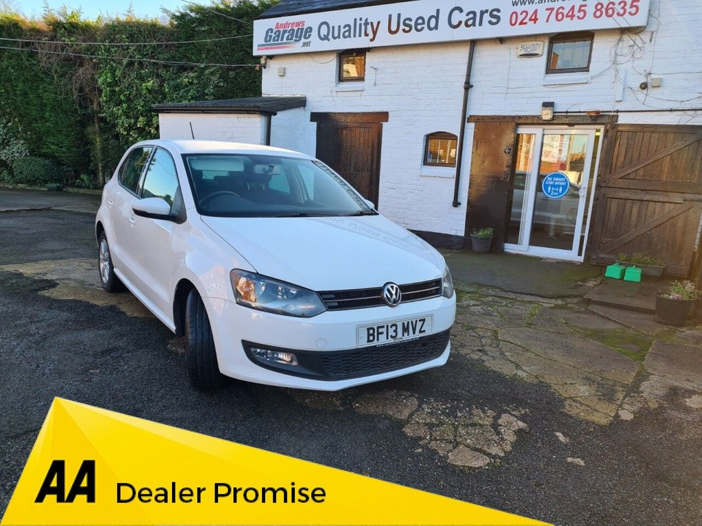 USED 2013 13 VOLKSWAGEN POLO 1.2 MATCH 5d 59 BHP