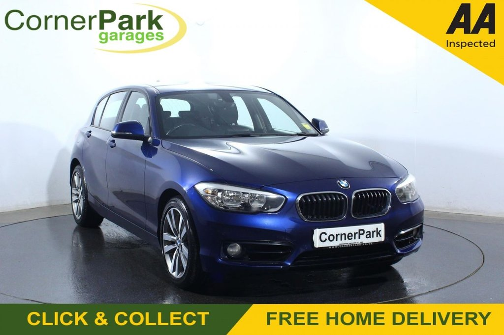 USED 2017 67 BMW 1 SERIES 2.0 120D XDRIVE SPORT 5d 188 BHP