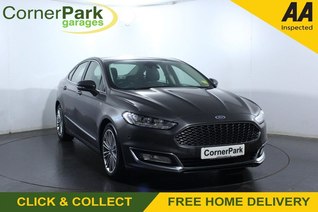 USED 2017 66 FORD MONDEO 2.0 VIGNALE HEV 4d 188 BHP