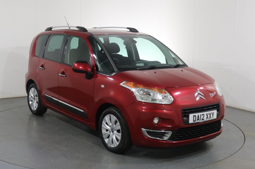 USED 2012 12 CITROEN C3 PICASSO 1.6 PICASSO EXCLUSIVE 5d 120 BHP BLUETOOTH I FULL SERVICE HISTORY