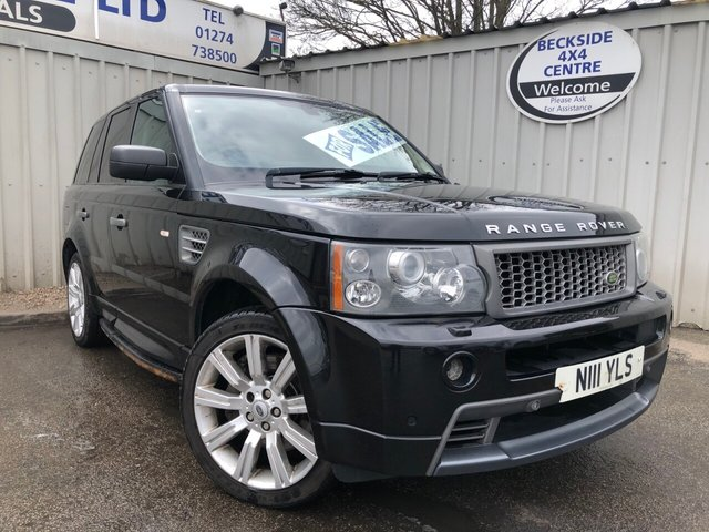View our LAND ROVER RANGE ROVER SPORT ESTATE