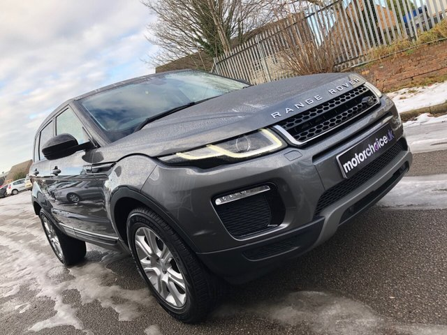 USED 2016 66 LAND ROVER RANGE ROVER EVOQUE 2.0 ED4 SE TECH 5d 148 BHP