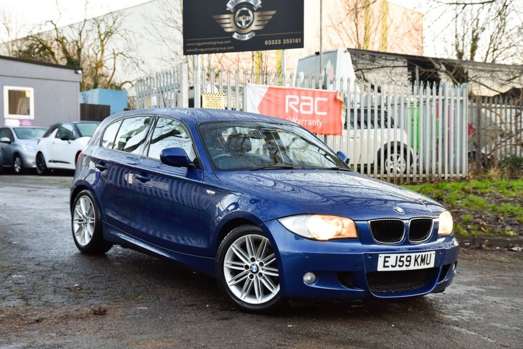 USED 2010 59 BMW 1 SERIES 2.0 120D M SPORT 5d 174 BHP